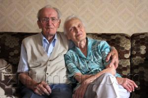 Oma und Opa - Familienphoto von Zillymedia