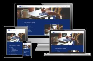 Webseite für Gründer von zillymedia
