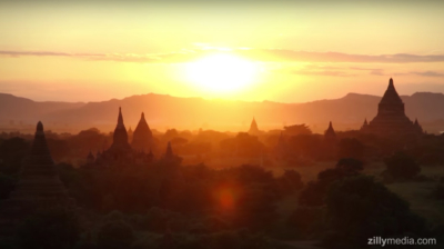 Tempel von Bagan - zillymedia